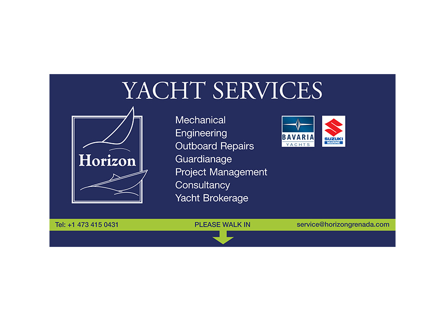 Signage design for yacht services